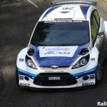 Sousa en Fiesta WRC au Portugal