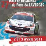 Rallye du Pays de Faverges 2011