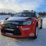 La DS3 WRC de P.Solberg pour 2011 !
