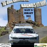Rallye de Bagnols-les-Bains 2011