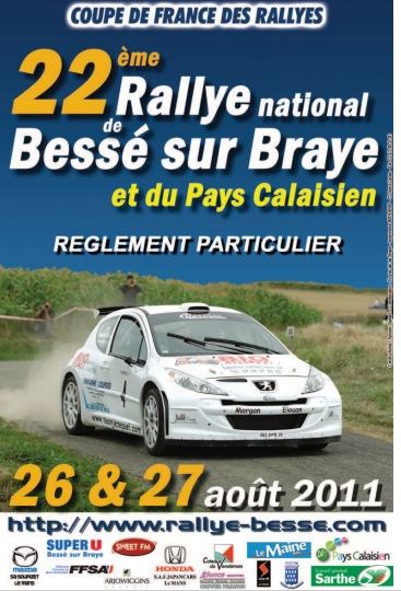 rallye de bess sur braye 2011 programme engag s. Black Bedroom Furniture Sets. Home Design Ideas