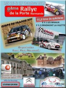 Rallye de la porte normande 2011 for Porte normande
