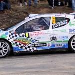 Delecour en Fiesta WRC au Monte-Carlo 2012
