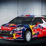La décoration de la DS3 WRC évolue peu