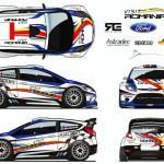 La Fiesta WRC de Delecour pour le MC