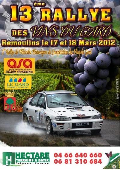 Vins du Gard 2012