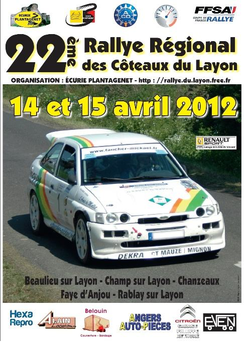 Coteaux du Layon 2012