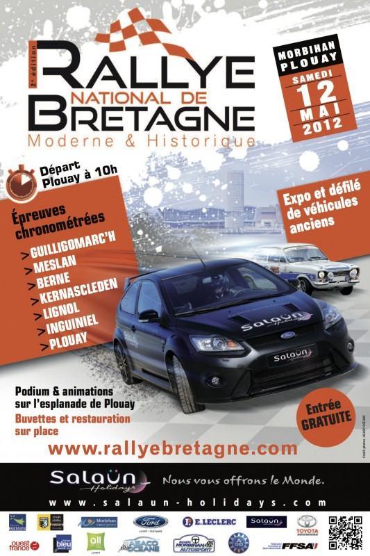Rallye Bretagne 2012