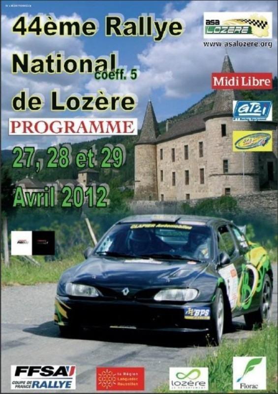 Rallye Lozere 2012