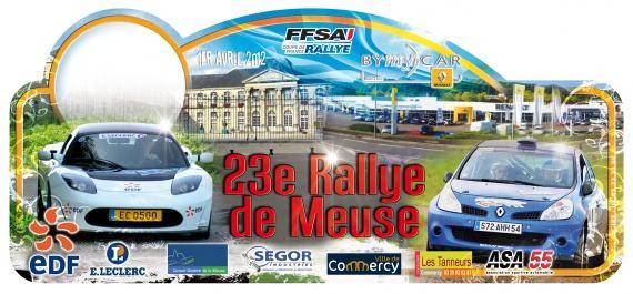 Rallye Meuse 2012