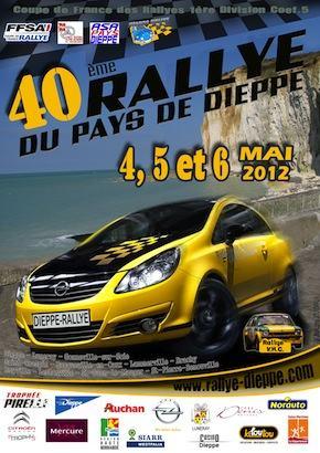 Rallye Pays Dieppe 2012