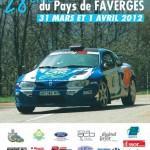 Liste engagés Rallye du Pays de Faverges 2012