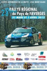 Rallye Pays de Faverges 2012