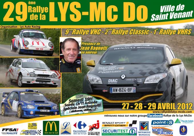 Rallye de la Lys 2012