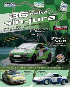 Rallye Ain Jura 2012