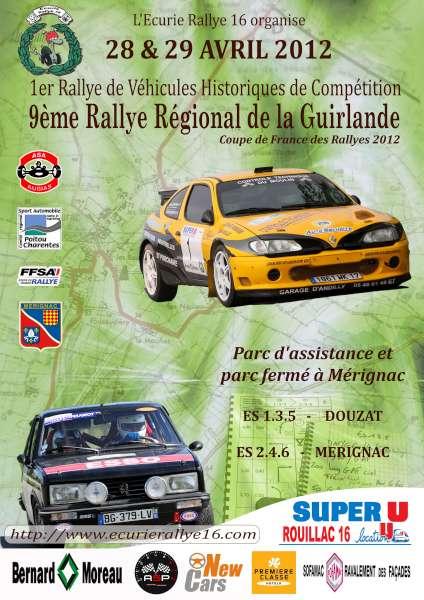 Rallye Guirlande 2012