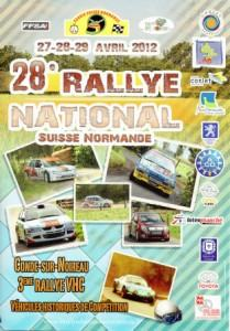 Rallye Suisse Normande 2012