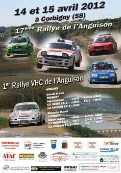 Rallye de l'Anguison 2012