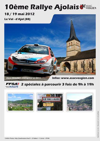 Rallye Ajolais 2012