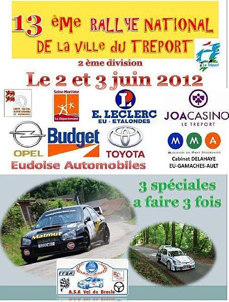 Rallye du Treport 2012