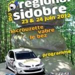 Rallye du Sidobre 2012