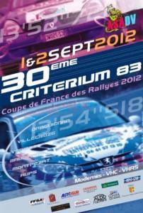 Rallye Criterium 83