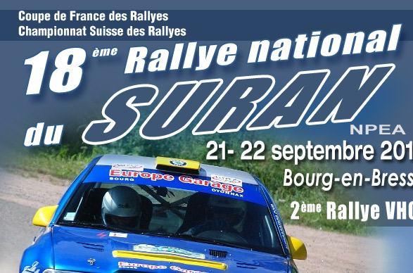 Rallye du suran 2012 - Calendrier coupe de france des rallyes ...