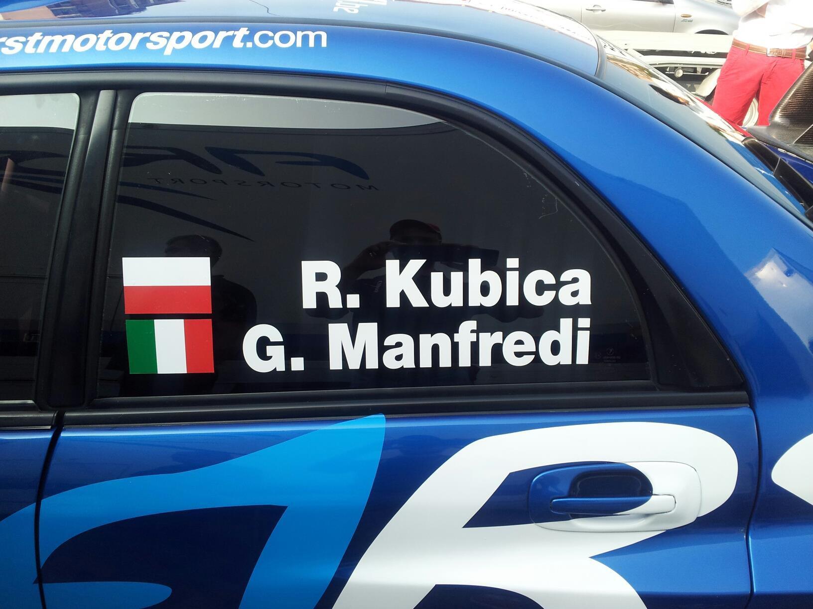 Kubica de retour en rallye