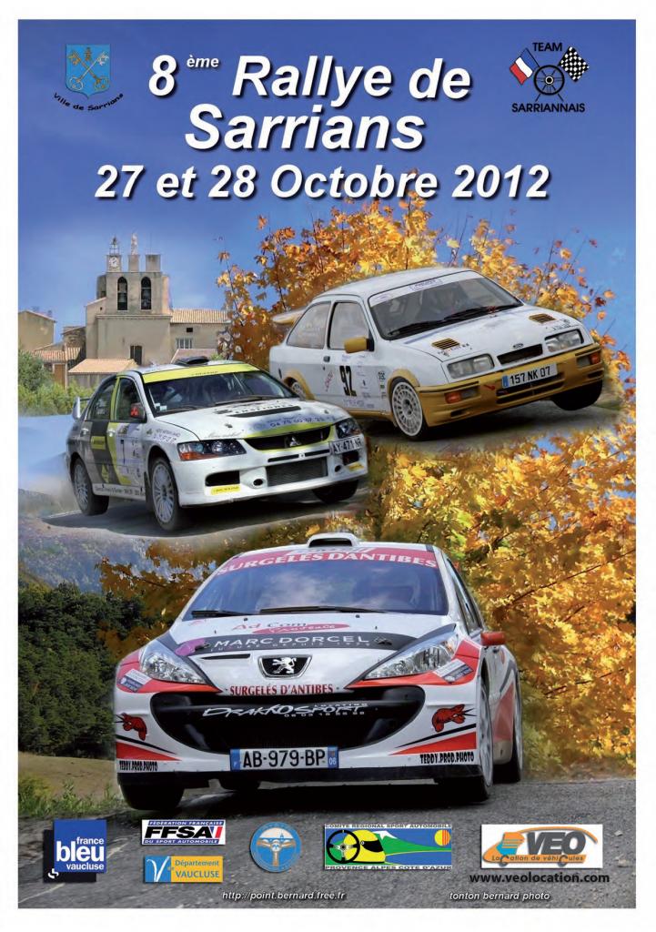 Rallye sarrians 2018
