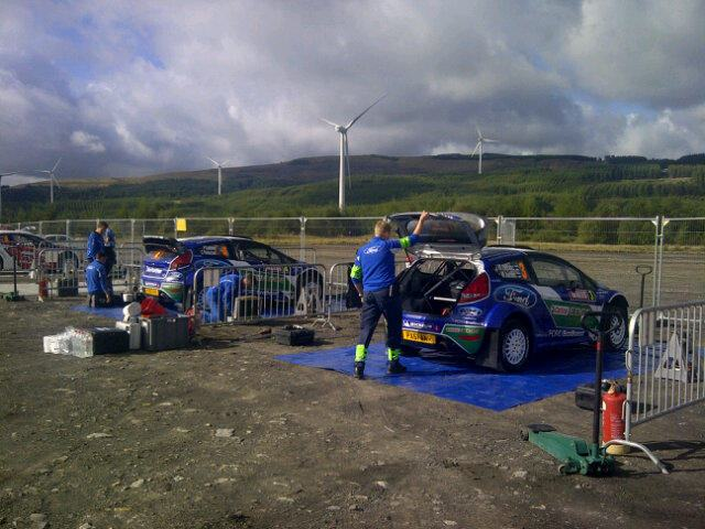 Shakedown Grande-Bretagne 2012