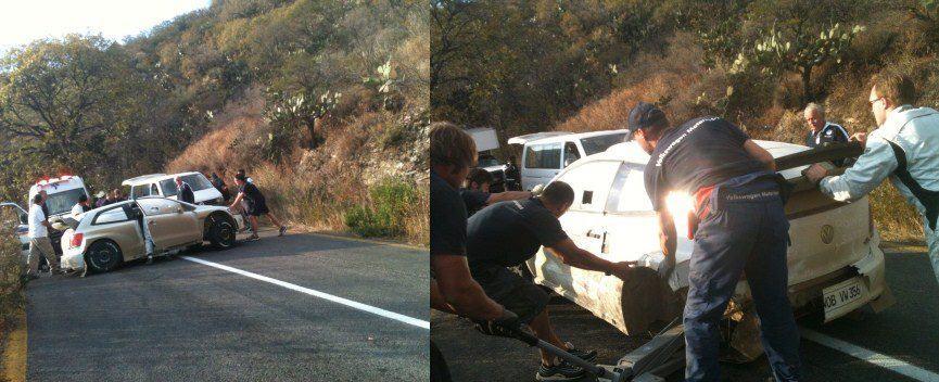 Accident Latval VW Mexique