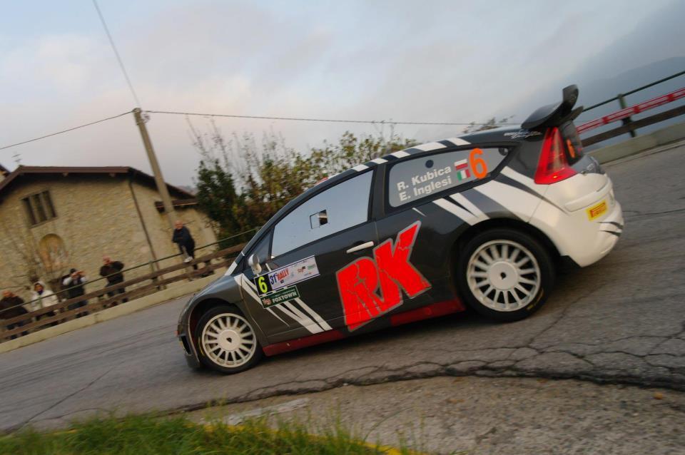 Kubica Rally di Como