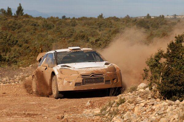 Guerra-teste-la-DS3-WRC