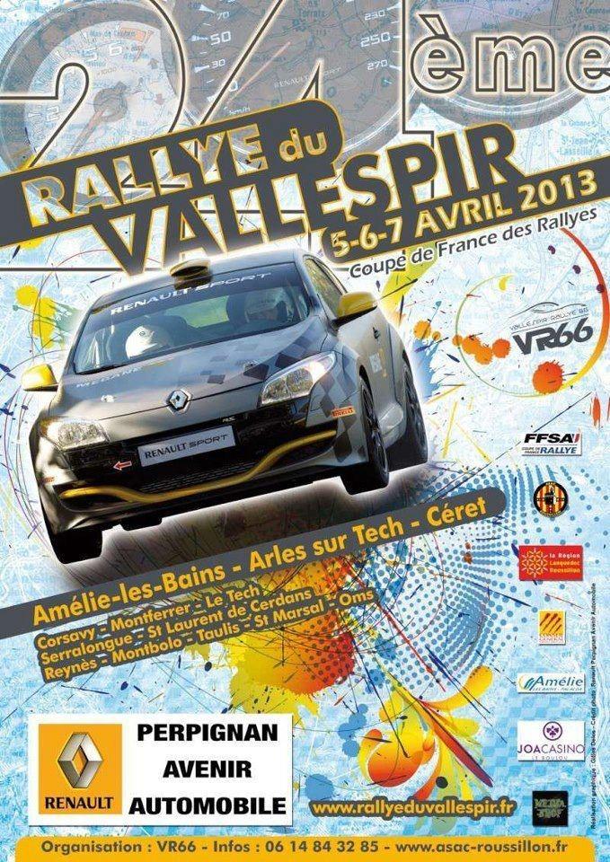 Programme Rallye Vallespir 2013