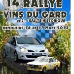 Rallye des Vins du Gard 2013
