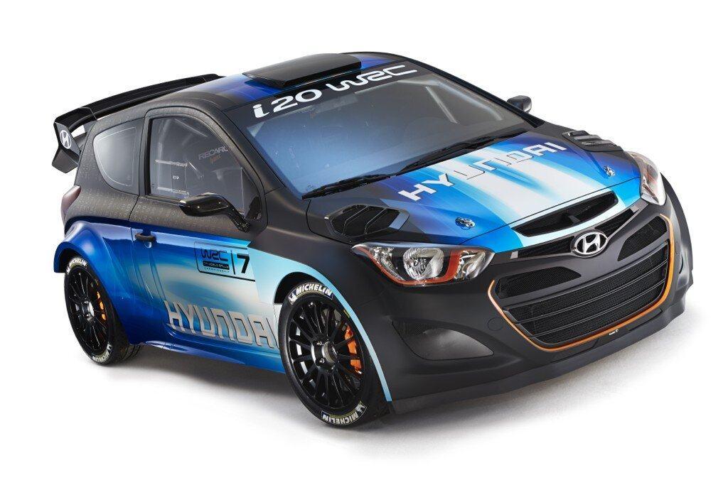 Hyundai i20 WRC Geneve