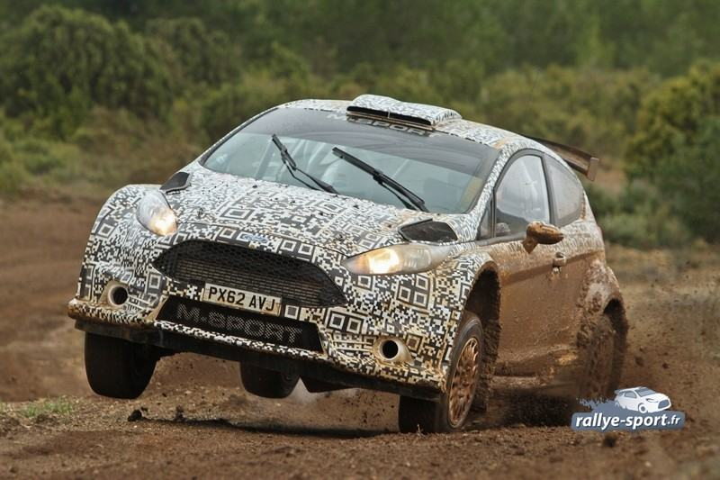 La Fiesta R5 en tests sur terre