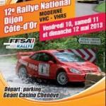 Rallye Dijon Côte d'Or 2013