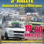 Rallye du Pays d'Olliergues 2013