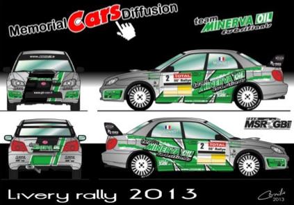 Subaru Impreza Thierry Monnet