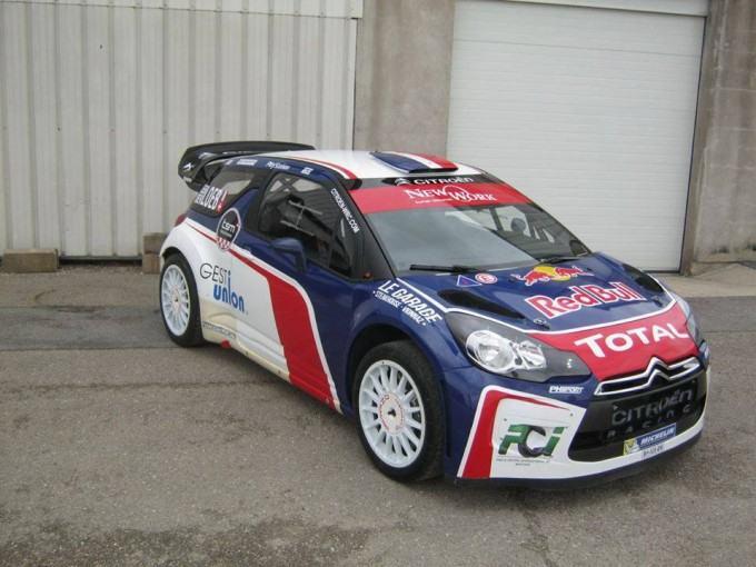 DS3 WRC Chablais