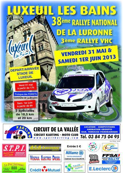 Rallye de la Luronne 2013
