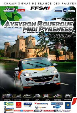Programme Rallye du Rouergue 2013