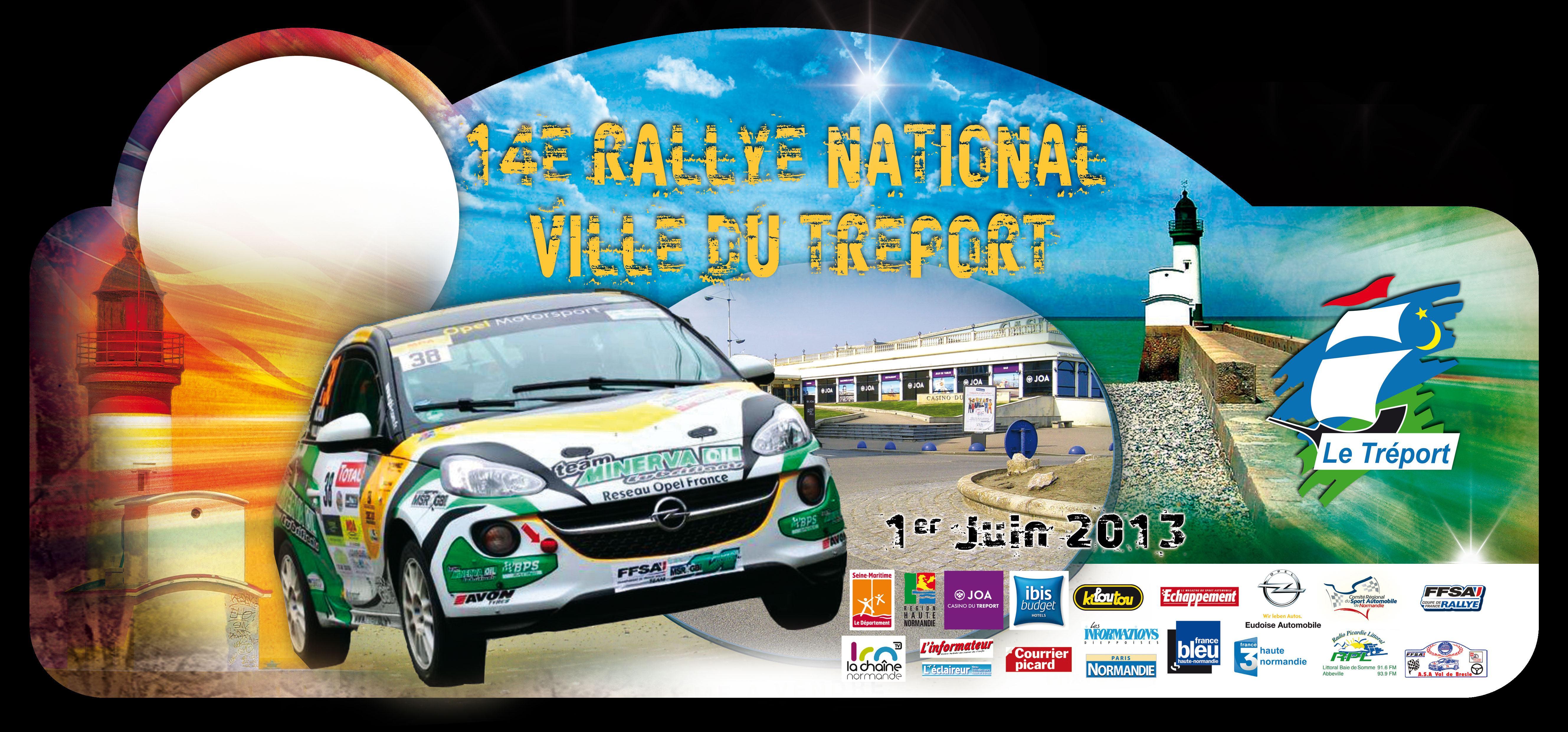 Rallye Treport 2013