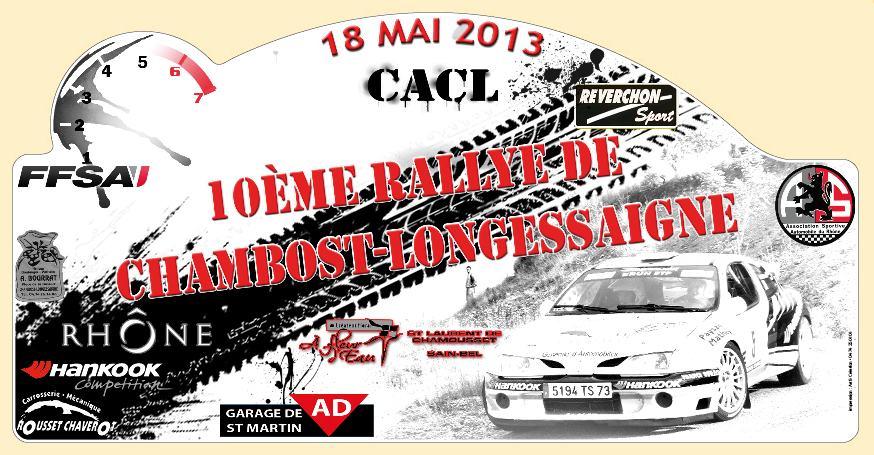 Rallye de Chambost 2013