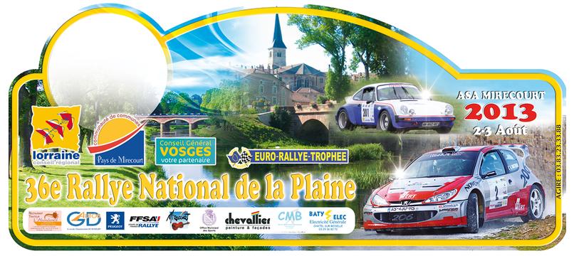 Programme Rallye de la Plaine 2013