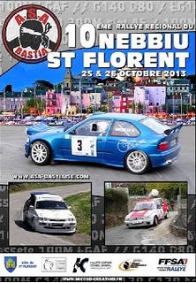 Programme Rallye du Nebbiu 2013