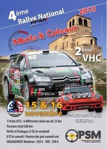 Programme Rallye Monts et Coteaux 2013