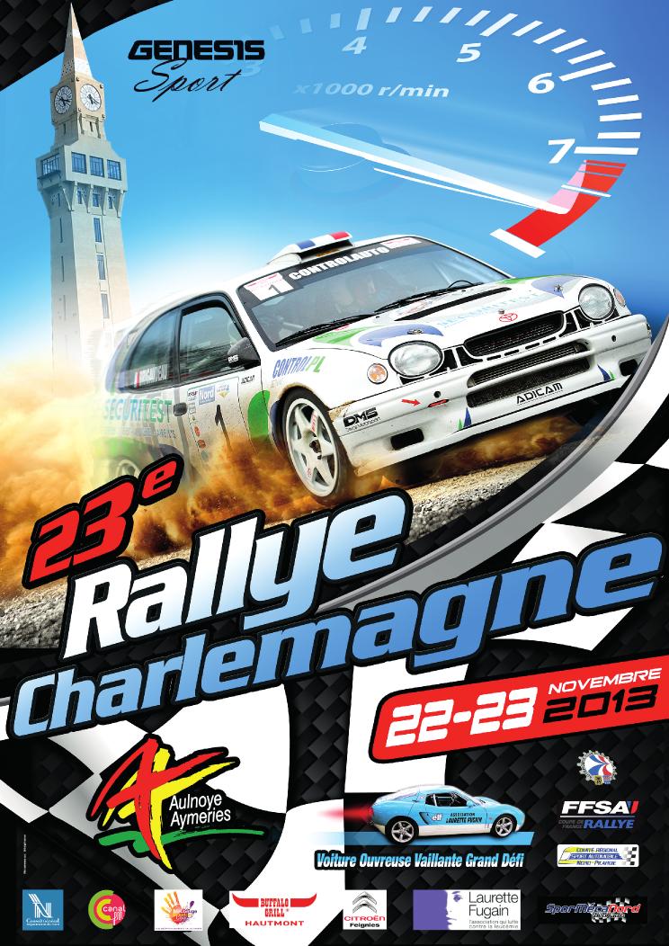 Classement Direct Rallye Charlemagne 2013