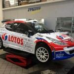 Robert Kubica en 207 S2000 ce week-end